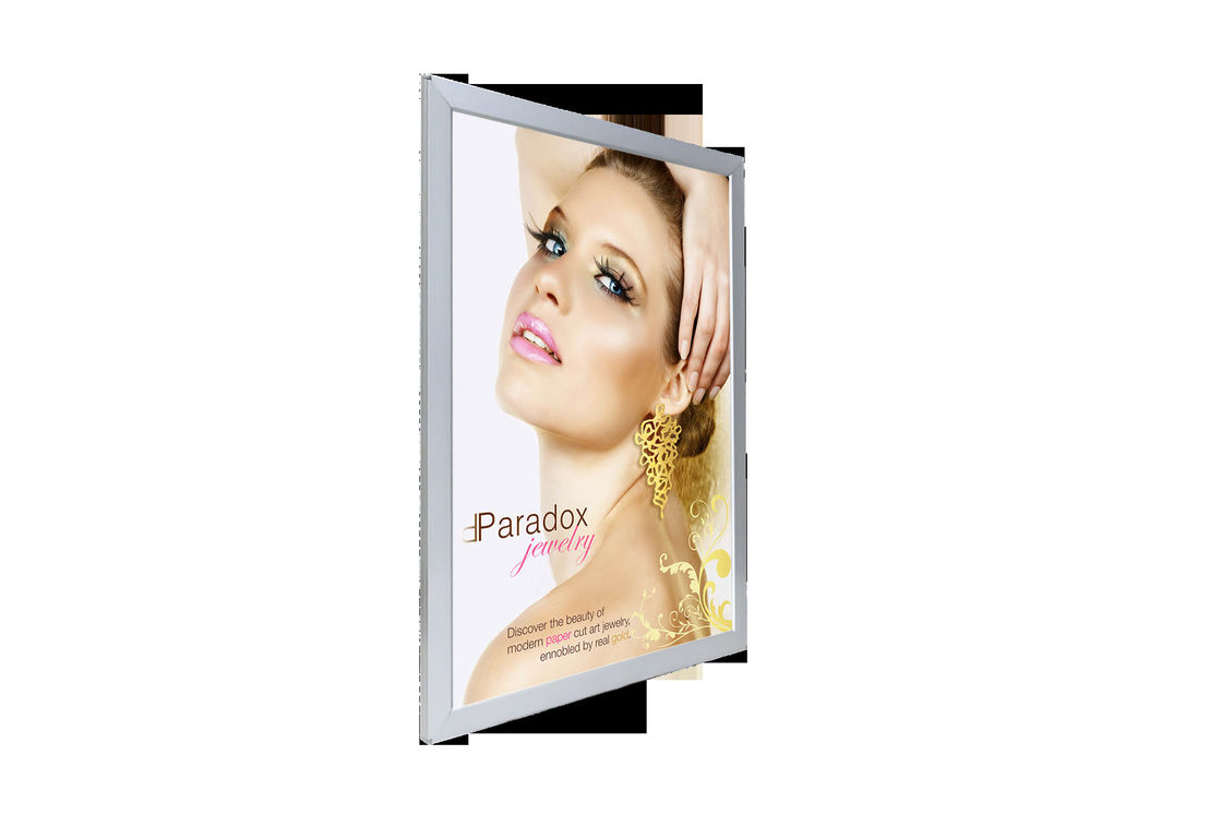 High Brightness Four Sides Snap Frame Light Box 2835 / 3014 / 5630 LED Type